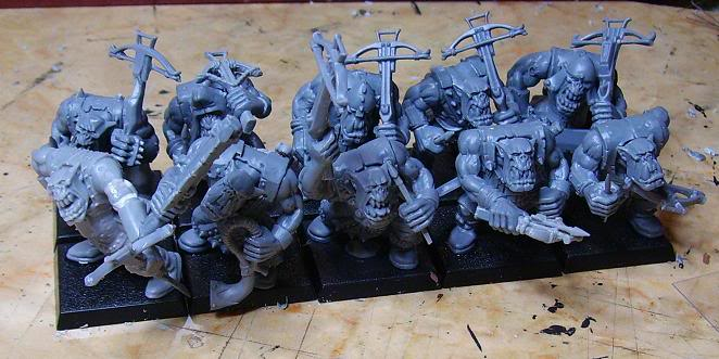 Orc Crossbows