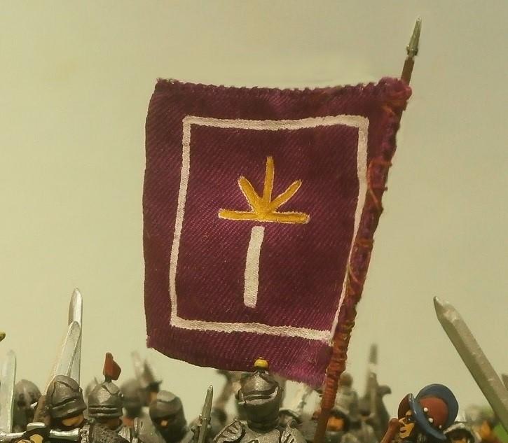 Part 24 Pic 1 Comp Men At Arms Flag Modified Close